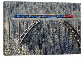 Canvas print  Arosa train | Langwies Viaduct - Olaf Protze