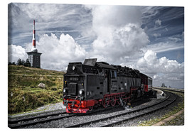 Canvas print  Brockenbahn - PhotoArt Hartmann