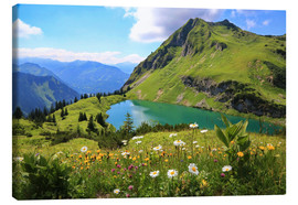 Canvas print  Seealpsee, Switzerland - fotoping