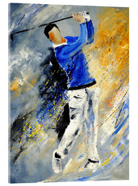 Acrylic print  Golf Player - Pol Ledent