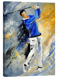 Canvas print  Golf player - Pol Ledent