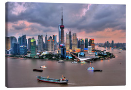 Canvas print  View of Pudong - Shanghai - HADYPHOTO by Hady Khandani