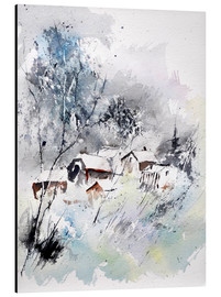 Pol Ledent - Wintry village