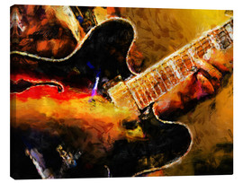 Canvas print  Blues musician - colosseum