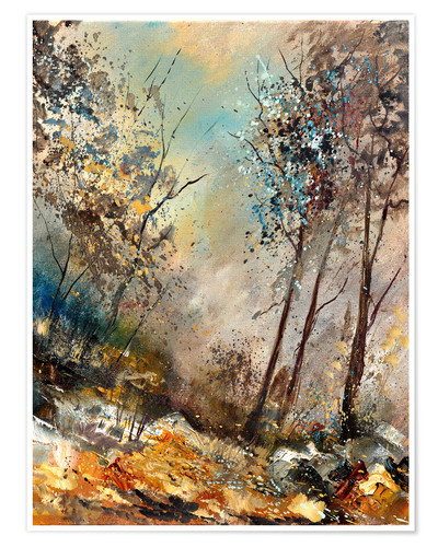 Premium poster Autumn forest