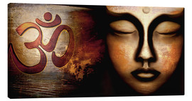 Canvas print  Siddhartha with Om - Christine Ganz