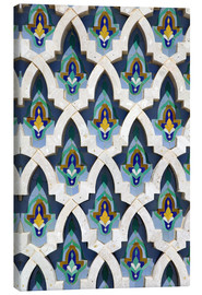 Canvas print  Mosque facade in Casablanca - Walter Bibikow