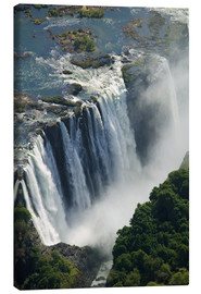 Canvas print  Zambezi River and Victoria Falls - Paul Souders