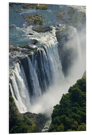 Foam board print  Zambezi River and Victoria Falls - Paul Souders