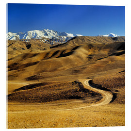 Acrylic print  Road to the Hindu Kush - Ric Ergenbright