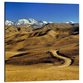 Alu-Dibond  Road leads to the Hindu Kush - Ric Ergenbright