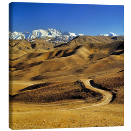 Canvas print  Road leads to the Hindu Kush - Ric Ergenbright