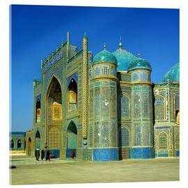 Acrylic glass  The Shrine of Hazrat Ali in Mazar-i Sharif in Afghanistan - Ric Ergenbright