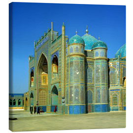 Canvas  The Shrine of Hazrat Ali in Mazar-i Sharif in Afghanistan - Ric Ergenbright