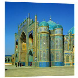 Foam board print  Ali mausoleum in Masar-e-Sharif - Ric Ergenbright