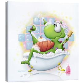 Canvas print  bubble bath - Tooshtoosh