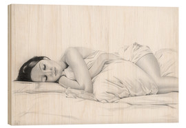 Wood  sleeping #1 - Daniel Kiessler