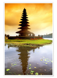 Premium poster  Temple on Bali - Bill Bachmann