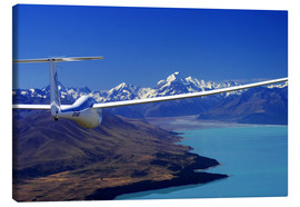 Canvas print  Glider over a lake - David Wall