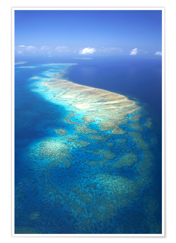 Premium poster Great Barrier Reef Marine Park