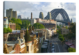 Canvas print  View over Sydney building - Walter Bibikow