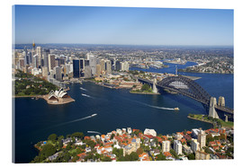 Acrylic print  Sydney skyline - David Wall