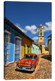 Canvas print  Old Chevy in Trinidad - Bill Bachmann