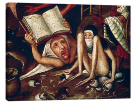Canvas print  The Hell - Hieronymus Bosch