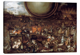 Canvas  Hell - Hieronymus Bosch