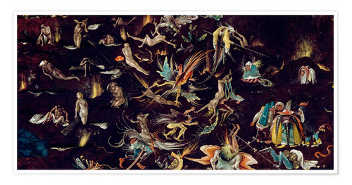 Premium poster Last Judgement