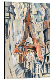Alu-Dibond  The Eiffel Tower - Robert Delaunay