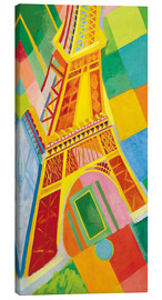 Canvas print  Eiffel Tower - Robert Delaunay