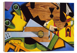 Juan Gris - Still Life with Guitar