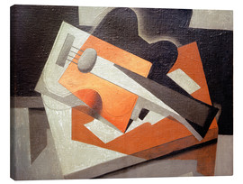 Canvas print  The guitar - Juan Gris