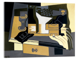 Acrylic glass  The coffee grinder - Juan Gris