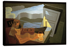 Canvas  View of the Bay - Juan Gris