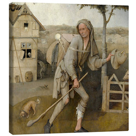 Canvas print  The Vagabond - Hieronymus Bosch