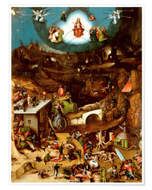 Premium poster  The Last Judgement - Hieronymus Bosch