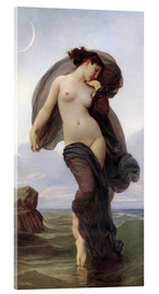 Acrylic print  Twilight - William Adolphe Bouguereau