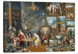 Canvas print  Sight and Smell - Jan Brueghel d.Ä.