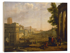 Wood  Aeneas in Delos - Claude Lorrain