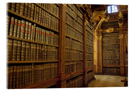 Acrylic print  Old Library of Melk Abbey - Cindy Miller Hopkins