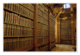 Cindy Miller Hopkins - Old Library of Melk Abbey