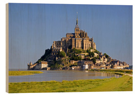 David R. Frazier - The island of Mont Saint Michel
