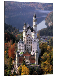 Aluminium print  Neuschwanstein and Alpsee in Bavaria, Germany - Ric Ergenbright