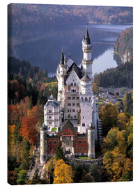 Canvas print  Neuschwanstein and Alpsee in Bavaria, Germany - Ric Ergenbright