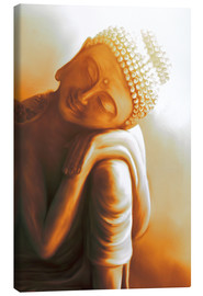Canvas  Reclining Buddha V - Christine Ganz
