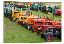 Wood  Antique Farm Tractors - Walter Bibikow