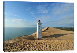 Canvas  Lighthouse Rubjerg Knude in Denmark - HADYPHOTO by Hady Khandani