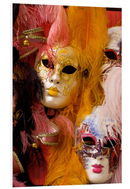 Forex  Colourful carnival masks from Venice - Bill Bachmann